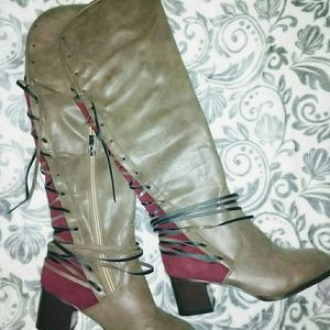 Bohemian Taupe Boots